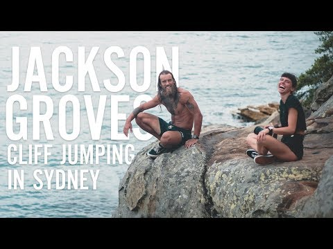 CLIFF JUMPING IN SYDNEY, AUSTRALIA: WATSON'S BAY/CAMP COVE ROCK JUMP