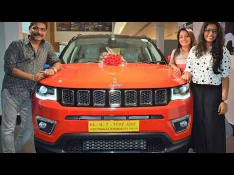 Mohanlal's Driver New Jeep Compass