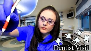 ASMR Dentist Roleplay (Personal Attention) Cavity Filling - Latex Gloves, Whisper