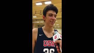 Chet Holmgren: 2019 USA Basketball Junior Minicamp Interview