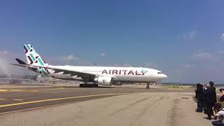 Air Italy Milan-New York Inauguration