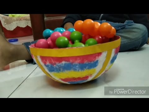 Paper Bowl craft   DIY Paper Bowl   Best out of waste  Bowl making with old newspapers
