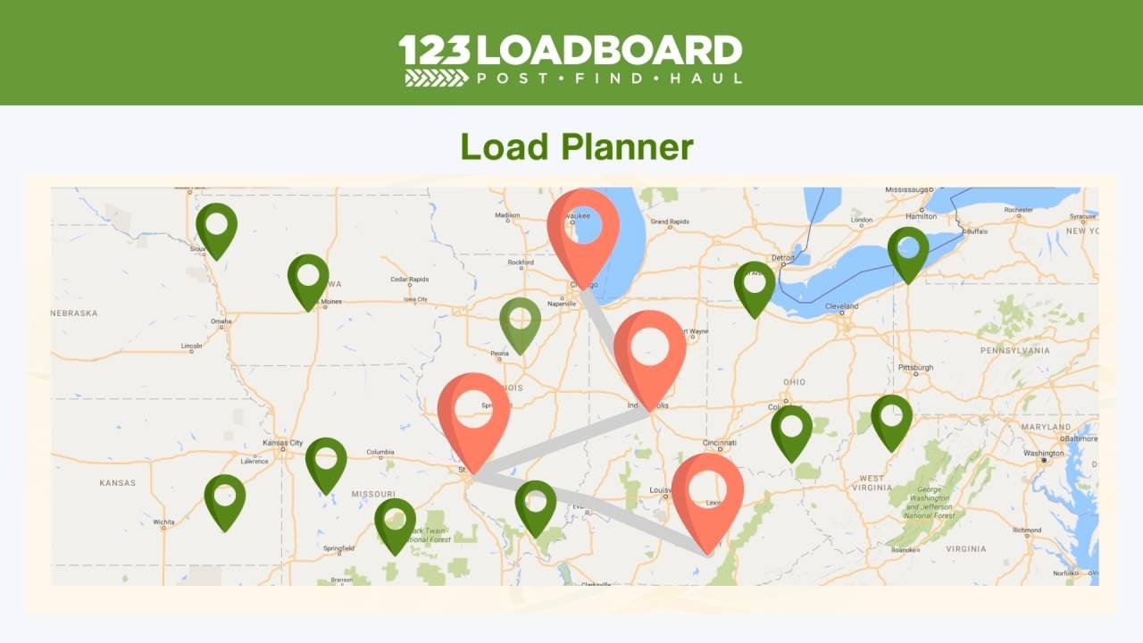 Load Board Demo To Find Truck Freight and Available Loads | 123Loadboard