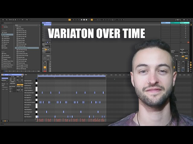 Ableton Live 10 for Beginners - Variation over Time