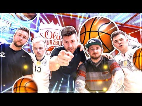 Die LUSTIGSTE CREW Basketball CHALLENGE 😂 🔥 Wer VERSAGT fliegt RAUS 😱
