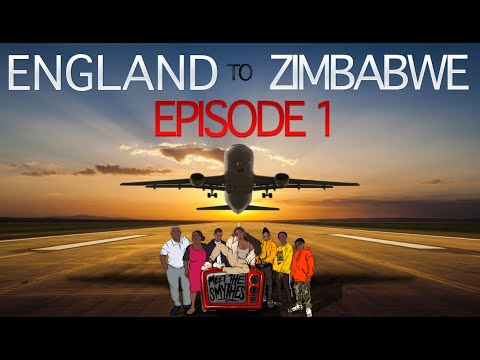 'AFRICA ROAD TRIP'  ✈️🌍 | Ep 1 LONDON TO ZIMBABWE Family VLOG
