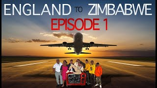 AFRICA ROAD TRIP ✈️🌍 | Ep 1 LONDON TO ZIMBABWE Family VLOG