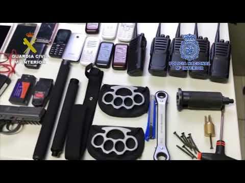 Detenidos por 39 robos en polígonos industriales y comercios de media España