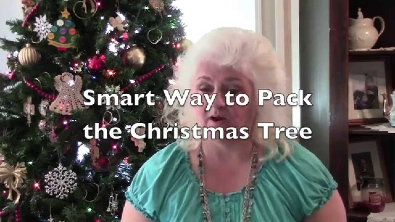 How to pack christmas ornaments for moving - Smart Way To Pack The Christmas Tree