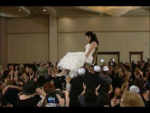 Rebecca and Jonathan Jewish Wedding Jan 10 2010- Horah Dance