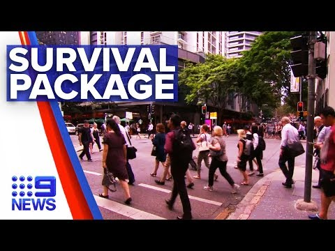 Coronavirus: Federal government to announce support package | Nine News Australia