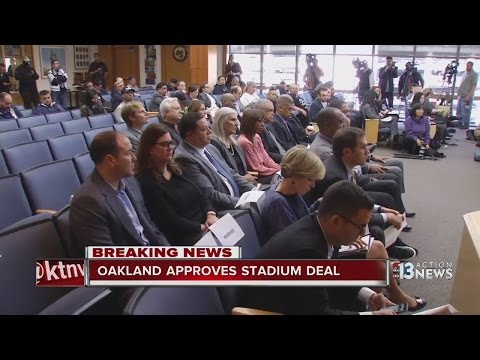 Oakland city council votes to approve proposal for stadium