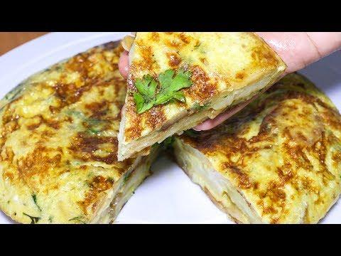 best-spanish-omelette-recipe-|-how-to-make-spanish-omelette-quickly-|-kanak's-kitchen