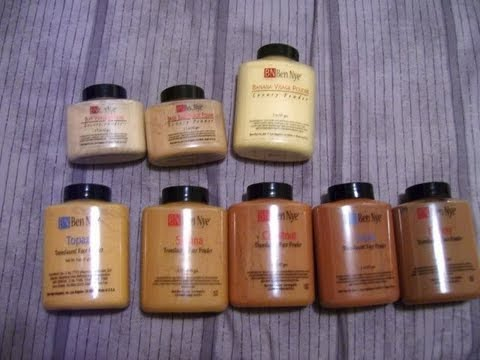 All About Ben Nye Translucent Luxury Powders Banana Beige Suede