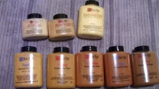 All About Ben Nye Translucent Luxury Powders - (Banana, Beige Suede, Topaz, Sienna)