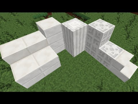 Quartz Blocks In Minecraft 1 5