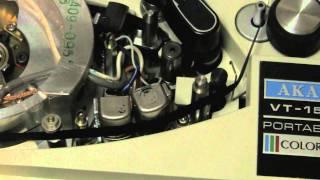 Akai VT-150 Color Video Tape Recorder, Part 1