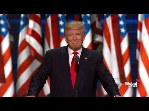Donald Trump full presidential nomination acceptance speech at Republican National Convention
