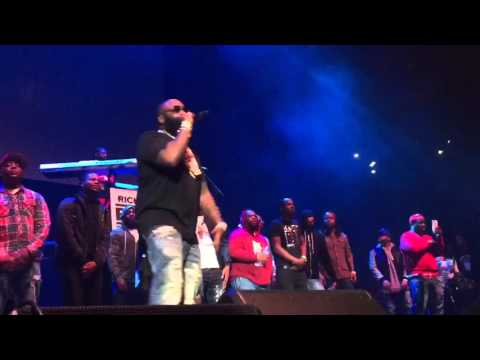 Meek Mill,Nicki Minaj , Rick Ross & DJ KhaledLive atPowerhouse 2015 NYC