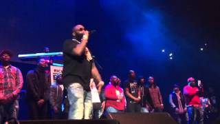 Meek Mill,  Nicki Minaj , Rick Ross & DJ Khaled  Live at  Powerhouse 2015 NYC