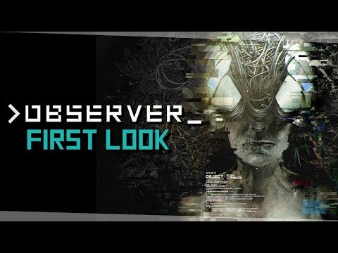 Observer First Look - Neural Police Investigation [Observer Game First Gameplay/Let's Play]