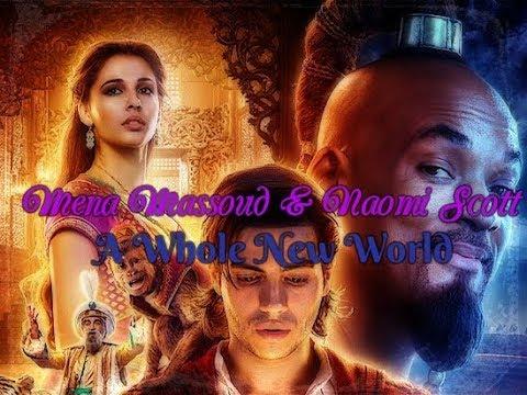 Mena Massoud & Naomi Scott - A Whole New World *Lyrics*