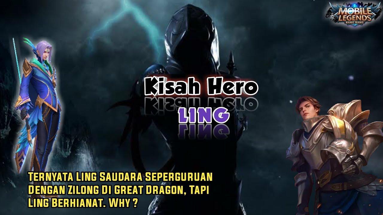 kisah nyata hero ling si penghianat mobile legends by millah haki