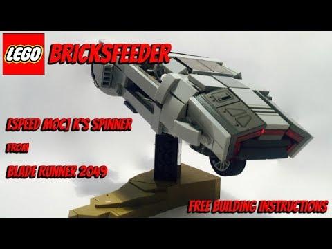 Speed Moc Ks Spinner From Blade Runner 2049 Free Building