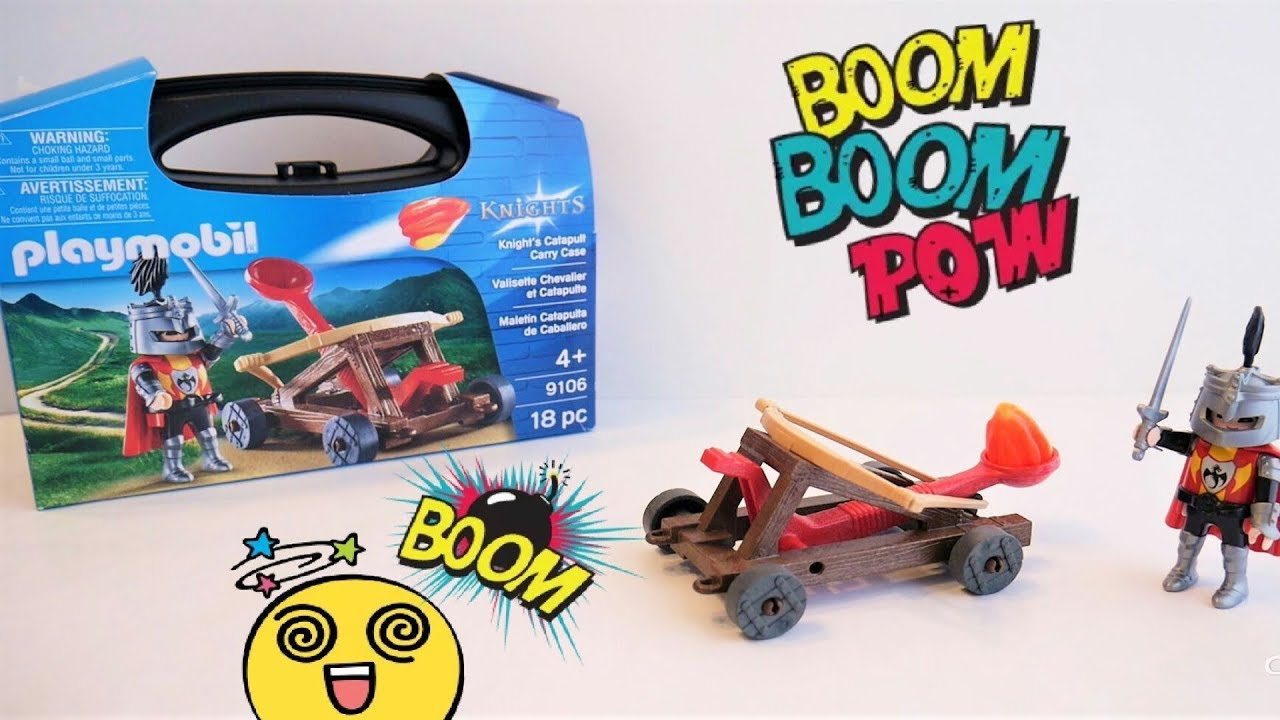 Uitgelezene Playmobil Knight's Catapult Carry Case 9106 Unboxing - YouTube RW-87
