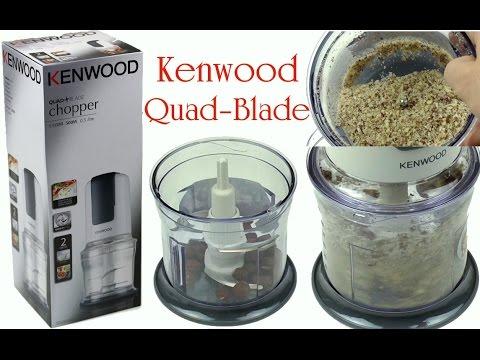 Produkt Test KENWOOD QUAD BLADE Zerkleinerer CH580 | 0,5l | 500 Watt | Unboxing