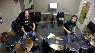 """Paralyzer"" COVER with Michael (drum student)"