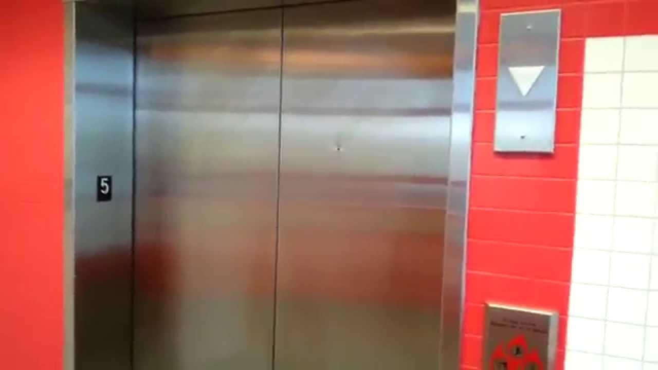 Garage Parking Stop >> Scenic Modded Schindler Hydraulic Elevator @ Van Buren Parking Garage, Naperville, IL - YouTube
