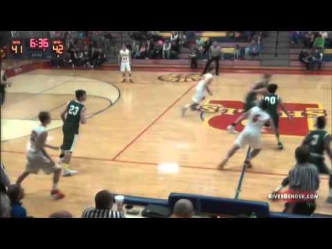 Play of the Game - Metro-East Lutheran @ Roxana Boys Basketball