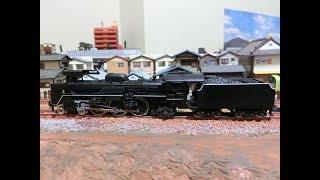 KATO C57+12系=6両 イベント列車仕様 走行テスト