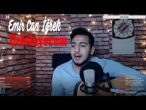 Yayında Emir Can İğrek - Defoluyorum Live (twitch.tv/dogumusician)