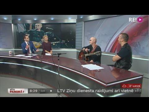 Ainara Virgas 55 gadu jubilejas koncerts. Intervija ar Ainaru Virgu un Jāni Buķeli