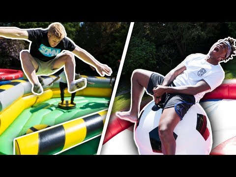 SIDEMEN WORLD CUP WIPEOUT CHALLENGE