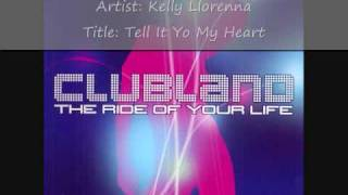 Clubland (2002) Cd 1 - Track 1 - Kelly Llorenna - Tell It To My Heart