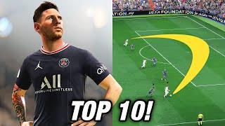 TOP 10 BEST GAMEPLAY FEATURES IN FIFA 22