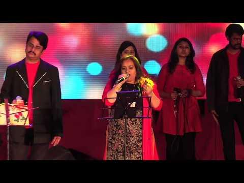 Hum Dil De Chuke Sanam-By Usha Umesh and Srinivas Murthy(Concert By Mayiur Music Entertainers)