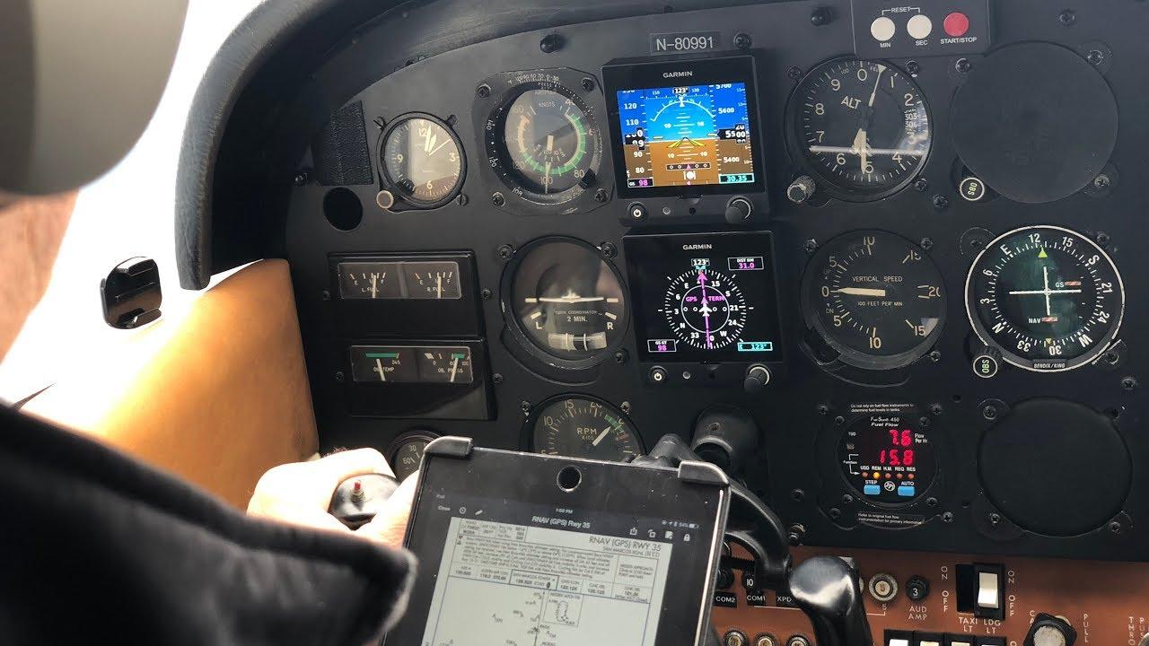 Cessna 172 GLASS PANEL - Test Flight - Garmin G5