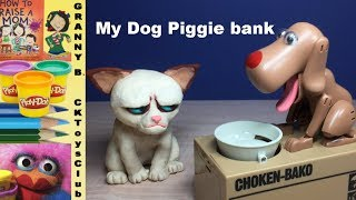 Dog Piggy Bank. by Granny B. CKToysClub