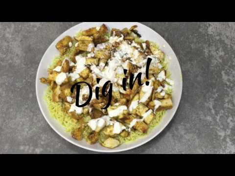 NYC Halal Cart Chicken and White Sauce Recipe at Home