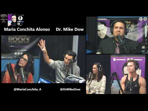 On the Rocks Radio Show: Maria Conchita Alonso / Dr Mike Dow / Annika Marks / Steven Dehler