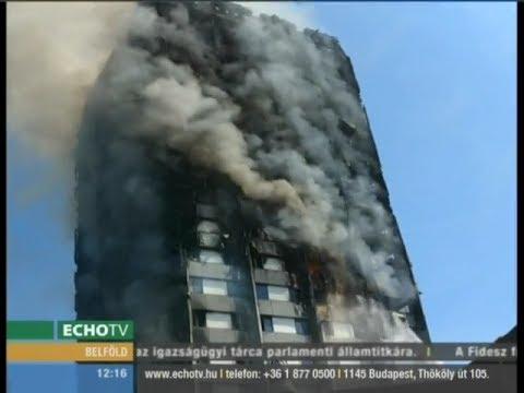 Egy felrobbant hűtőszekrény okozhatta a londoni tűzvészt - Echo Tv