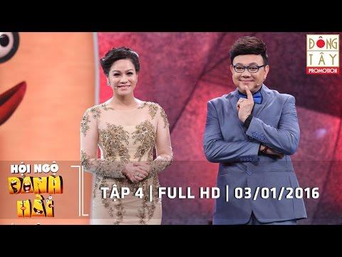 HỘI NGỘ DANH HÀI   TẬP 4   FULL HD   03/01/2016