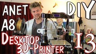 anet a8 great value diy 3d printer kit prusa i3