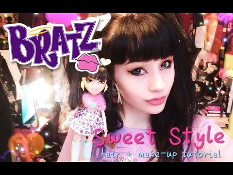 bratz hair styling bratz sweet style hair amp make up tutorial 3527