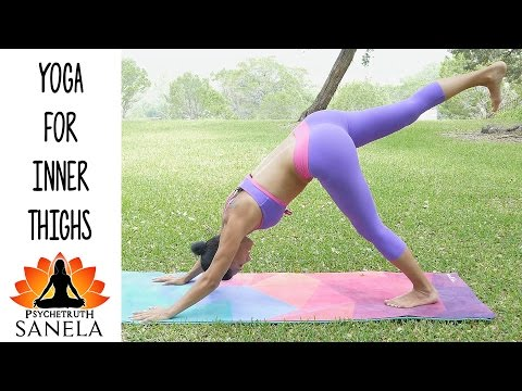 Sanela Yoga #19 Trim Inner Thighs Beginners Workout