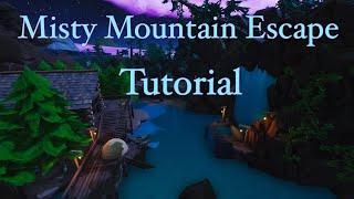 Fortnite Misty Mountain Escape Tutorial! Code: 1785-8636-6715